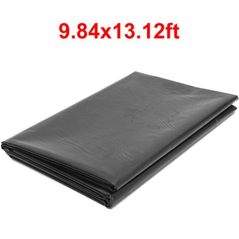 HDPE Fish Pool Pond Liner Membrane Reinforced Gardens Pool Landscaping 3m*4m