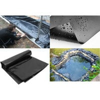 HDPE Fish Pool Pond Liner Membrane Reinforced Gardens Pool Landscaping 3m*5m
