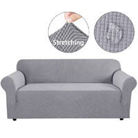 Sofa Cover for 3 Place Universal Waterproof Elastic Stretch 180-231cm