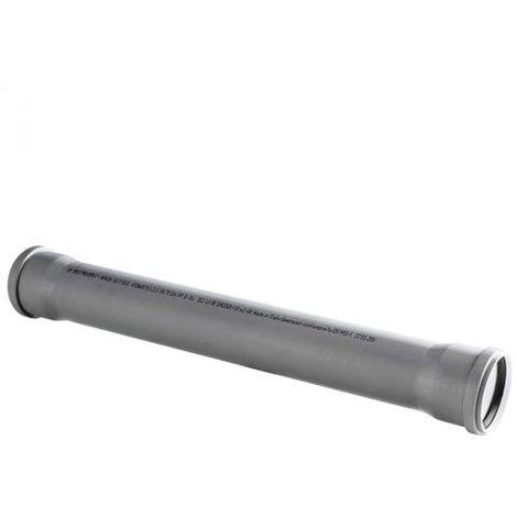 TUBO SCARICO A INNESTO DOPPIO BICCHIERE 32 mm,1 mt