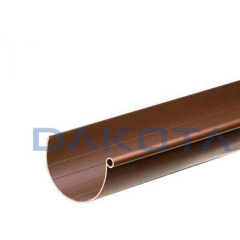 Canale di gronda Grondaia PVC color rame G125 Metri 3 DAKOTA