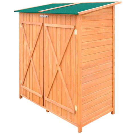 5 ft. W x 2 ft. D Pent Wooden Tool Shed by WFX Utility - Multicolour