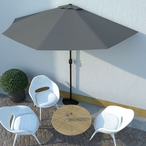 1.5m Balcony Parasol by Freeport Park - Anthracite