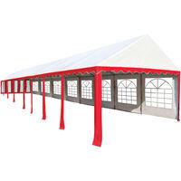 Boxborough 6m x 16m Steel Party Tent by Dakota Fields - Red