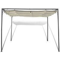 Bontrager 3m x 3m Steel Pop-Up Gazebo by Dakota Fields - Cream