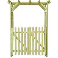 Maliah Gate Arch by Dakota Fields - Brown