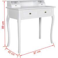 Furr Dressing Table by Fleur De Lis Living - White