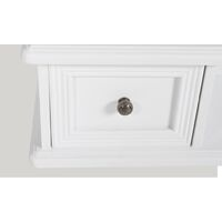 Furman Dressing Table with Mirror by Fleur De Lis Living - White