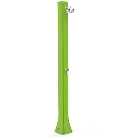 Ducha Piscina Mar Big Happy Five Verde cm 26x29x215 ARKEMA DESIGN - prodotto made in Italy CV-F600/6018 - Pradera Verde