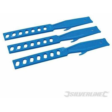 Mezcladores de plástico, 3 pzas, 280 mm