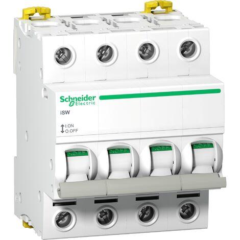 Acti9 iSW interrupteur-sectionneur 2P 63A 415VAC package, Schneider Electric réf. A9S65463