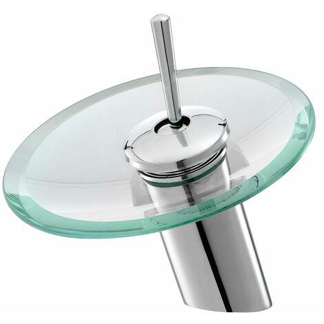 Monobloc glass monobloc safety valve for LAVENTE waterfall basin mixer