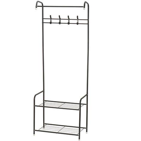 Coat Rack Garment Clothes Holder Hanger Floor Stand Organizer