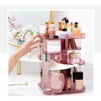 Make-up Storage Organizer Cosmetic Rotating 360 ¡ã Box Rack LAVENTE