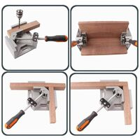 90 degree wedge clamp angle angle woodworking vice wood / metal welding / welding LAVENTE