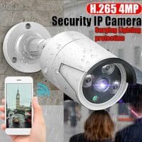 Hiseeu Waterproof 1080P Full HD 1080P POE Wireless IP Camera CCTV WIFI CMOS Smart Cam Motion Detection Lighting Protection Surgery Protection WASHED