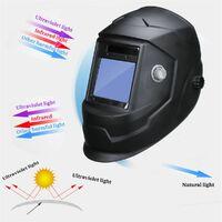 [UV / IR Protection] Professional Solar Auto Darkening Welding Helmet Mask Welder Welding Machine Arc Tig mig Welding Grinding Protective Mask 4 Welding Arc Sensor
