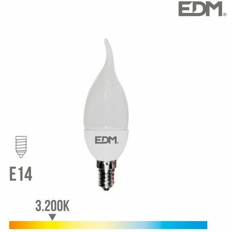 AMPOULE BOUGIE BOHEMIENNE LED SMD 5W E14 3,200K 400 LUMENS EDM LUMINEUX CHAUD