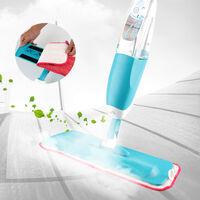Balai Lave Sol avec Vaporisateur Intégré - Convient pour toutes surfaces Bleu