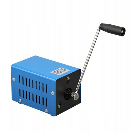 High Power Crank Generator, USB Charge Load Generator Emergency Dynamotor for Camping Outdoor Activities
