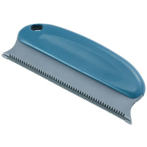 Anti-Hair Brush, Pet Comb 2 In 1 - Reusable Cleaning Brush for Dog, Cat, Clothing, Cushion, Sofa, Car, Bed (Navy Blue)