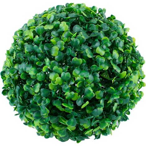 Artificial Grass Ball Milan 18 cm, Ball Guide, Round Takraw Takraw Flower Ball, Interior and Outdoor Decoration for Wedding Party