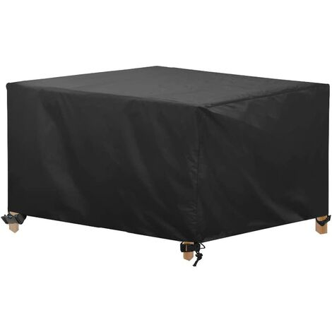 Garden Furniture Covers Waterproof Cube Furniture Cover Garden Table Cover Resistant Oxford 150*150*75cm