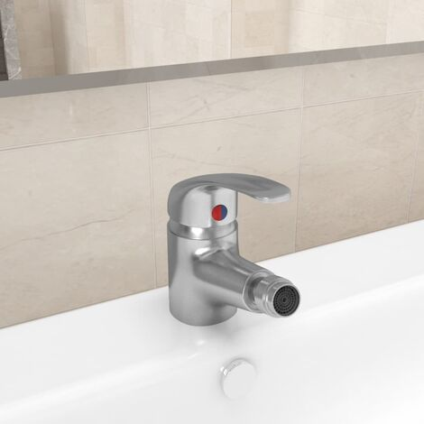 Bathroom Bidet Mixer Tap Nickel 13x12 cm7279-Serial number