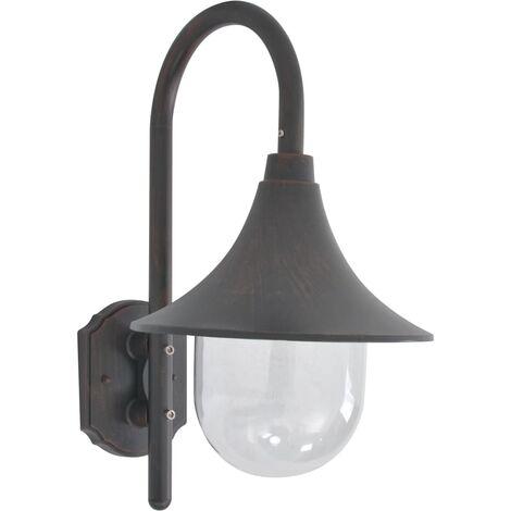 Garden Wall Lamp E27 42 cm Aluminium Bronze31351-Serial number