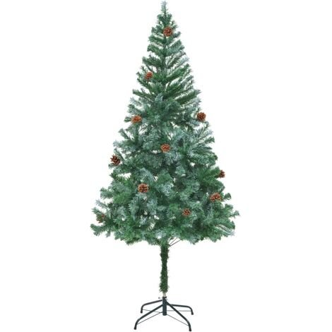 Artificial Christmas Tree with Pinecones 180 cm34822-Serial number