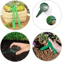 Tool for drill succulent transplant tools seed seedling garden tools seed seed for multiplication planting set - sower planter perforator seedling green