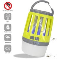Multifunctional Outdoor Camping Lamp Anti-Mosquito Camping Anti-Mosquito Lighting USB Charge Yellow Portable Tent Lamp