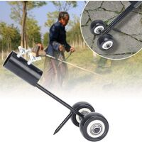 Right hook weeding tool, terrace weeding tool with long handle wheels, weeding tool without serving to clean between slabs, pavers, patio lawns