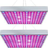 Plant Lighting, Plant Growth Light, Full Spectrum LED filling light of 45 W, 2 pieces