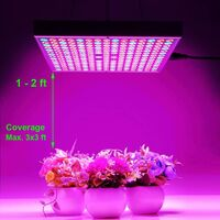 Plant Lighting, Plant Growth Light, Full Spectrum LED Plant Light 45W, Extraction Light