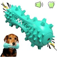 Can clean dog toys, dog toothbrushes, solid rubber chewing toys for small and medium dogs, blue