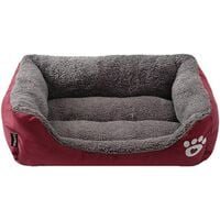 Dog bed, used for dogs, cats, small animals, candy color, washable, soft, hot, fabric s