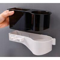 Bathroom Shelf Shelf Hair Dryer Shelf Hair Dryer Black