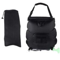 Solar Energy Collection Shower Bag Portable Shower Bag Camping Shower Bag 20L Black Bath Water Bag