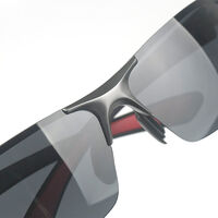 Polarized sunglasses in aluminum alloy and trendy magnesium, high-definition and comfortable high definition resin sport sunglasses
