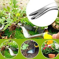 Manual Weeders, Remover Narrow Dandelion Hand Tool, Rust Resistant Aluminum Alloy Narrow For Seedling Weeder Garden Lawn, Transplantation