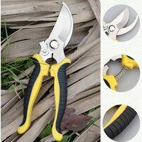 Rullen scissors and leather sheath tool, professional carbon steel alloy, hand sharp blade, hand secator, garden scissors, garden mowers