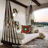 Heavy Ceiling Hook Stainless Steel 350kg, 360 ° Rotation Suspension Swing Crochet, Ceiling Hook Fastening Hook for Chair, Hanging, Strike Bag, Boxing, Hammock, Yoga