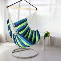 Swing Chair, Children's Swing Hanging Armchair, Garden Chair Toggle Chair Outdoor Hanging Chair, Hammock Chair for Indoor Outdoor Garden Terrace Veranda (150 * 190cm)