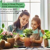 100 pieces Plastic Plant Labels Garden Labels Type T for waterproof nursery
