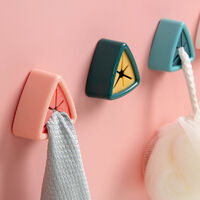 Free Creative Kitchen Towel Rack, Perforated Storage Hook, Kitchen Cap Rack, Wiper, Tablet Wooden