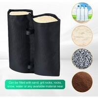 4 Pack Weight Bags Sand Bags Weighted Feet Bag for Garden Gazebos, Parasols, Outdoor Pop up Canopy Tents