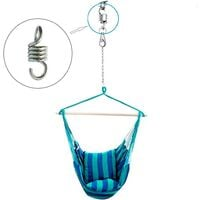 Betterlife Spring Hammock 3pcs 7mm Hammock Chair Spring, Spring Hook Extension, Hammock Chair Accessory, For Porch Chairs Suspended