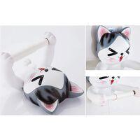 BetterLife Cat Starren Towel Holder Resin Crafts Pendant Bathroom Decorations