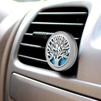 BetterLife Car Deodorant, Diffuser Oils Stainless Steel, Aromatherapy Powerful Medallion Magnet, Deodorant Oil Diffuser with 10 Replacement Felt